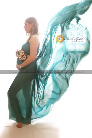 Glam Maternity Session