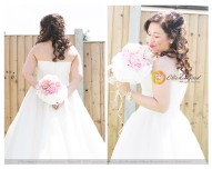 Bridal Portrait in Redbridge, Essex